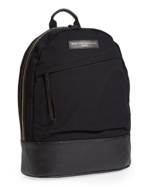 Want Les Essentiels De La Vie | Black 'kastrup' Backpack for Men | Lyst