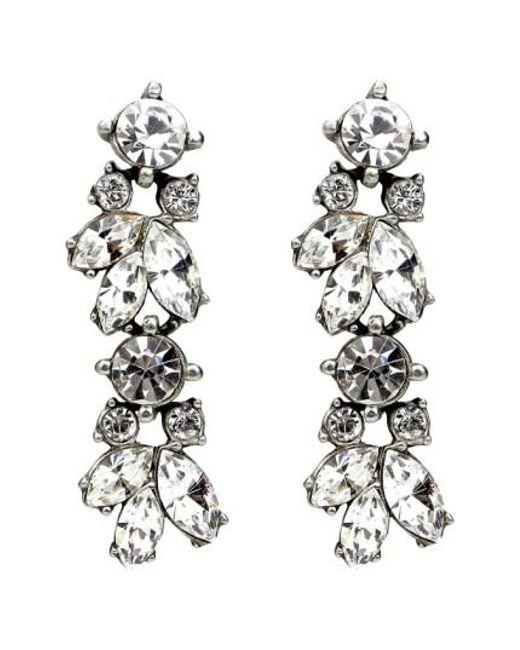 Ben-Amun | Metallic 'crystal Vine' Drop Earrings | Lyst