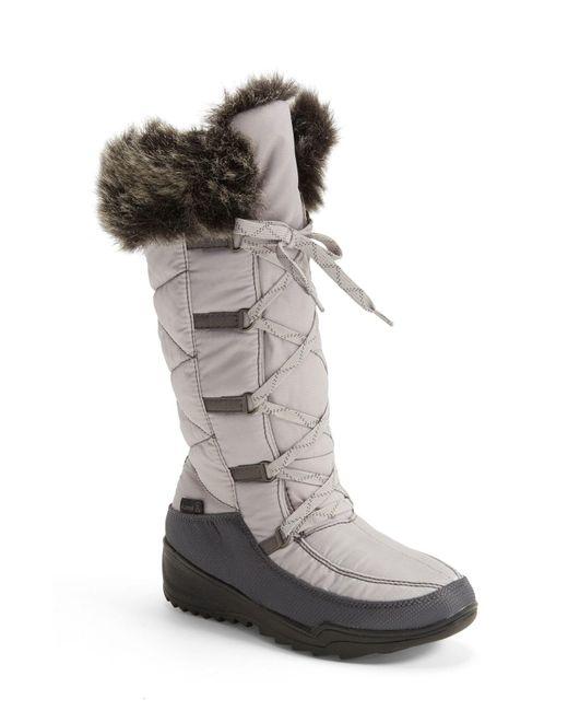 Kamik - Black 'Porto' Waterproof Winter Boot - Lyst