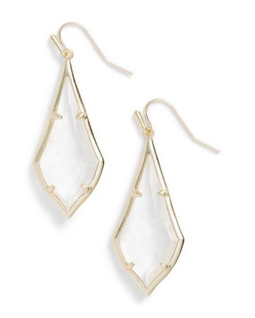 Kendra Scott | Metallic Olivia Drop Earrings | Lyst