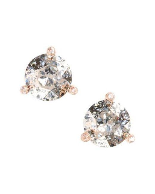 Kate Spade   Metallic 'rise And Shine' Stud Earrings   Lyst