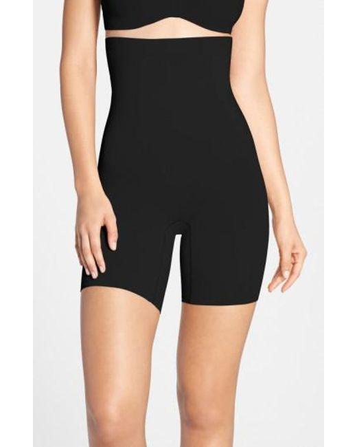 Spanx - Black Spanx Onccore High Waist Mid Thigh Shaper - Lyst