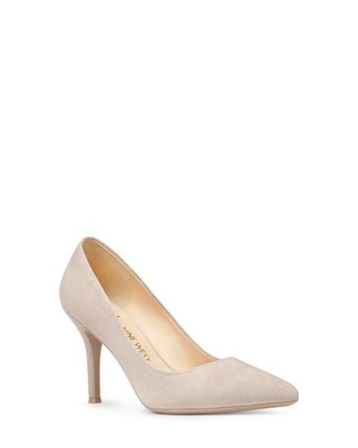 Nine West | Natural Fifth Pointy Toe Pump | Lyst