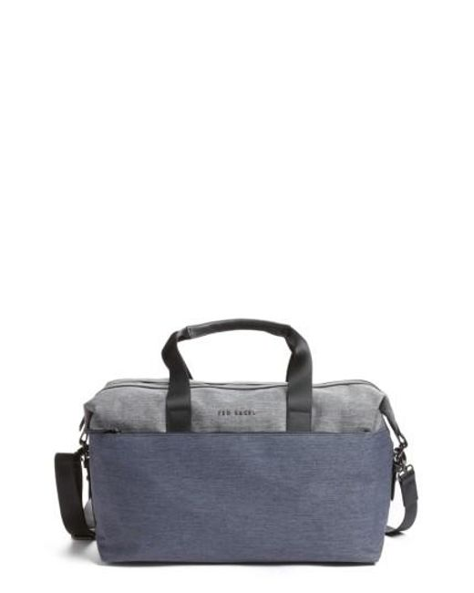Ted Baker | Gray Hamahed Duffel Bag for Men | Lyst