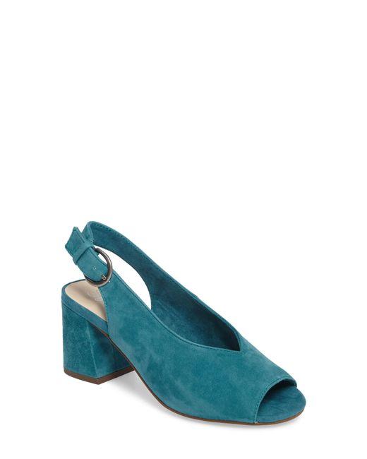 Seychelles - Blue Playwright Slingback Sandal - Lyst