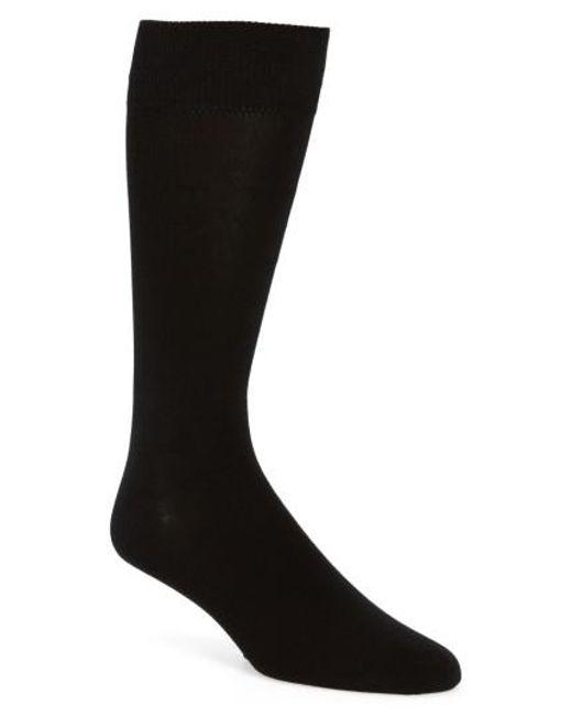 Calibrate - Blue Cotton Blend Socks for Men - Lyst