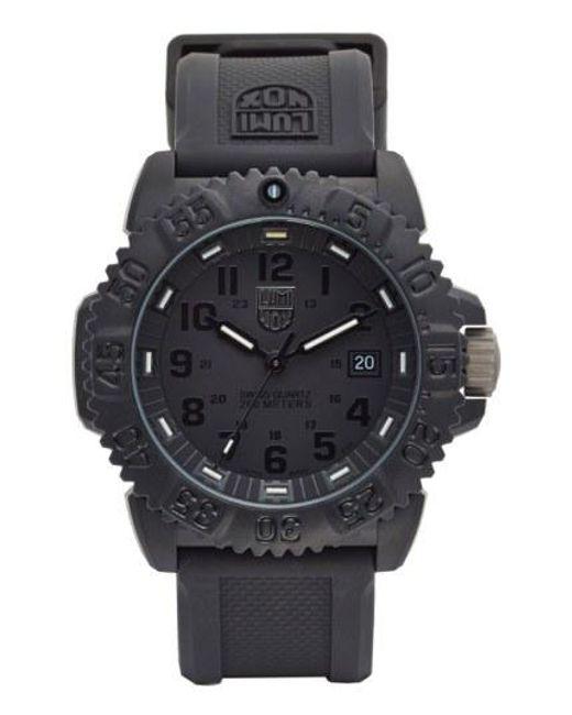 Luminox - Black 'sea - Navy Seal Colormark' Silicone Strap Watch for Men - Lyst