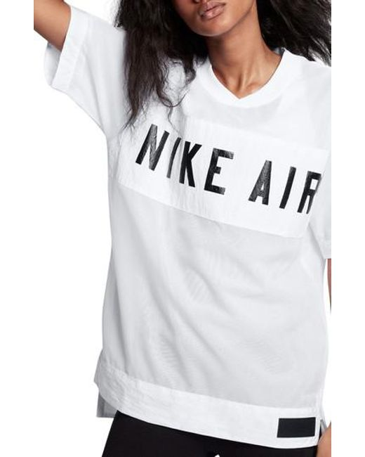 7344d72902d9 Lyst - Nike Air Tee in White for Men