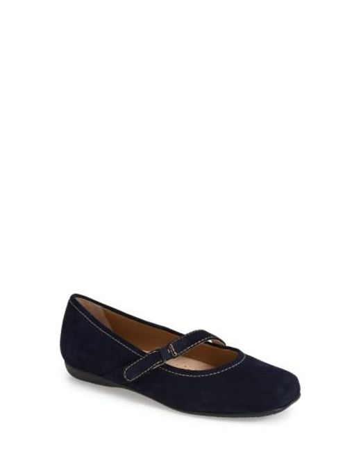 Trotters - Blue 'Simmy' Ballet Flat - Lyst