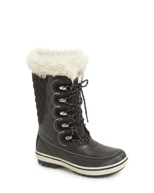 Helly Hansen | Black 'garibaldi' Waterproof Snow Boot | Lyst