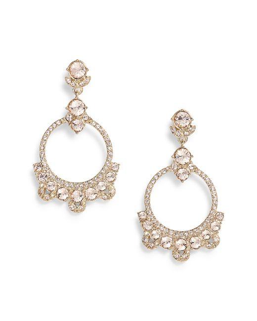 Givenchy - Metallic Orbital Drop Earrings - Lyst
