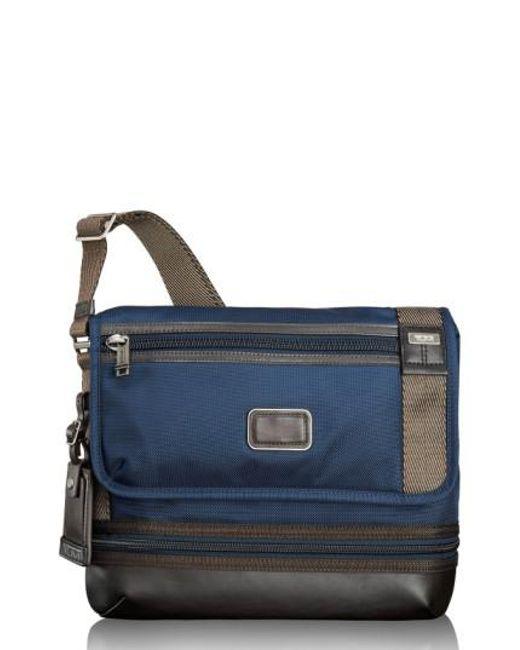 Tumi | Blue 'alpha Bravo - Beale' Crossbody Bag for Men | Lyst
