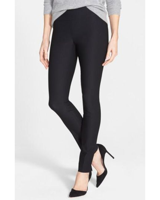 NIC+ZOE - Black 'the Wonder Stretch' Slim Leg Pants - Lyst