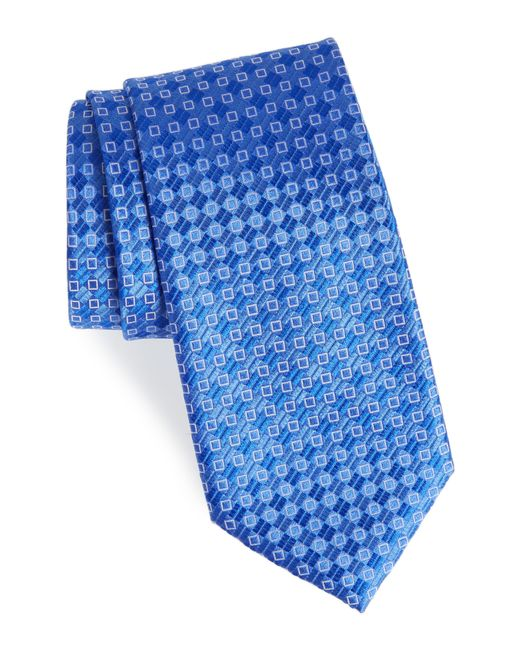 Nordstrom - Purple Middletown Geometric Silk Tie for Men - Lyst