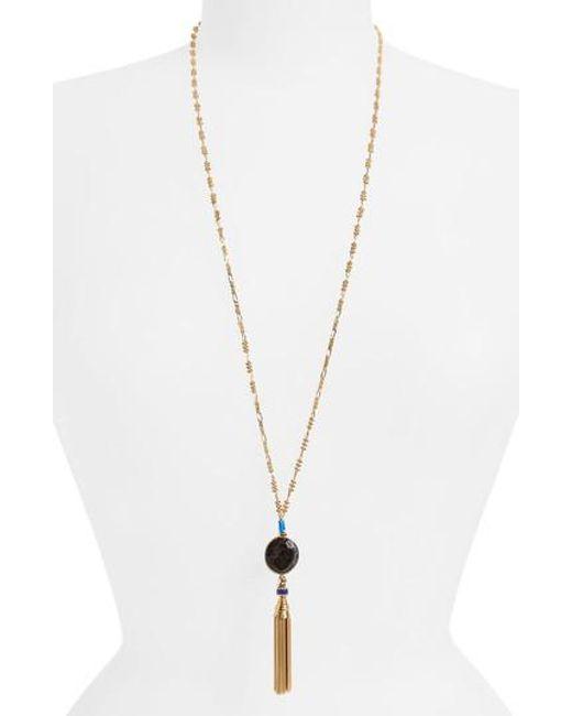 Gas Bijoux Serti Pondicherie long necklace - Metallic 4sswB6BZ