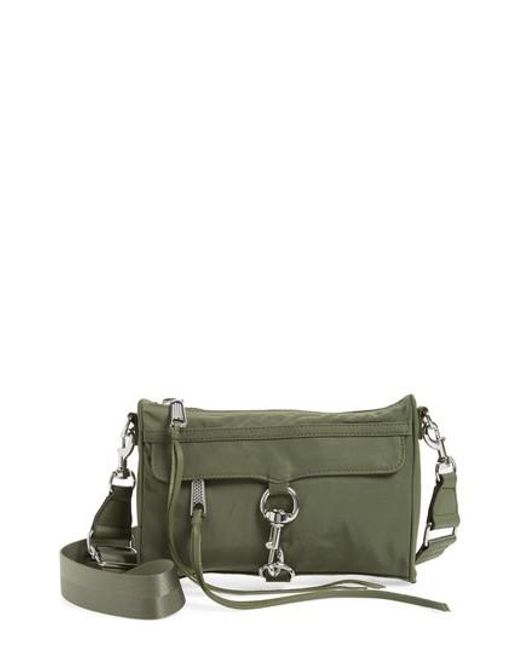 Rebecca Minkoff - Green Mini Mac Convertible Crossbody Bag - - Lyst