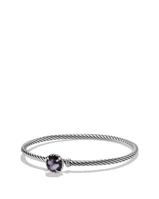 David Yurman - Metallic 'color Classics' Bangle Bracelet - Lyst