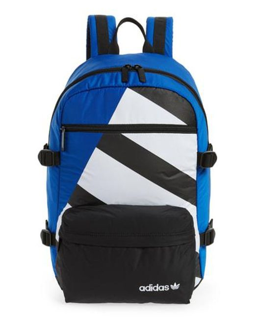 9ae5a8df24 Adidas Originals - Blue Adidas Original Eqt Blocked Backpack - for Men -  Lyst