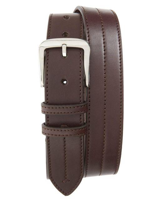 Shinola - Black Leather Belt for Men - Lyst