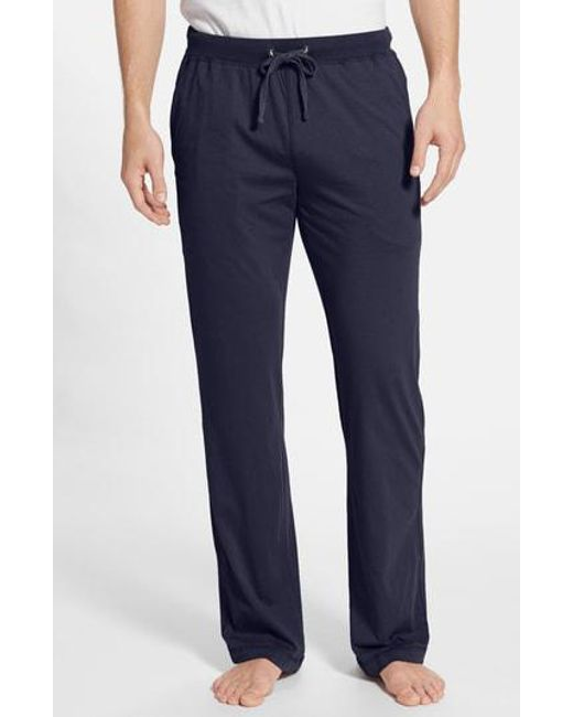 Daniel Buchler - Brown Peruvian Pima Lightweight Cotton Lounge Pants for Men - Lyst