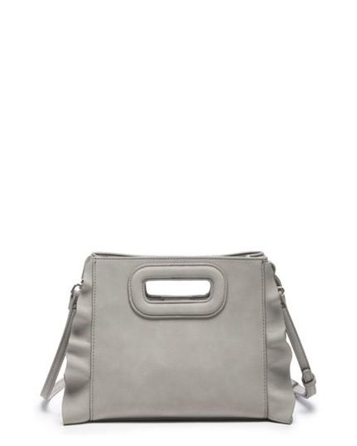 Sole Society - Gray Faux Leather Crossbody Bag - Lyst