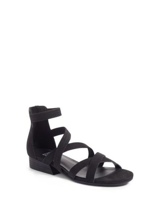 Eileen Fisher - Black Eva Sandal - Lyst