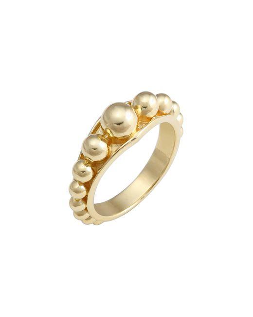 Lagos - Metallic Caviar Gold Ring - Lyst