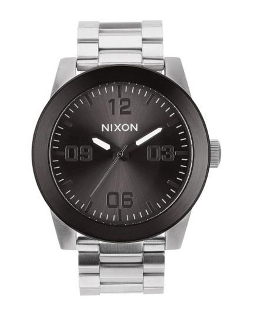 Nixon | Metallic 'the Corporal' Bracelet Watch for Men | Lyst