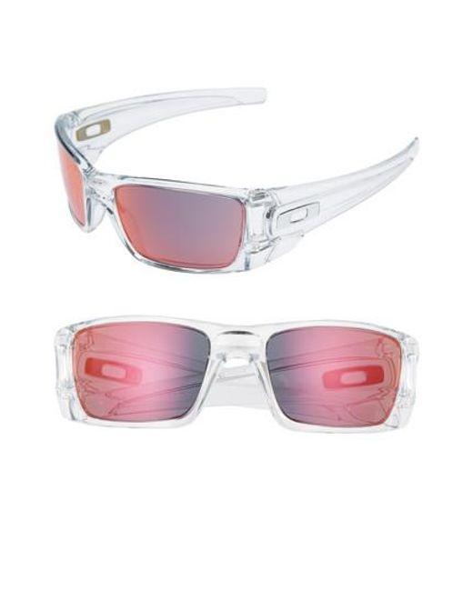 Oakley | Brown Fuel Cell 60mm Sunglasses - Clear | Lyst