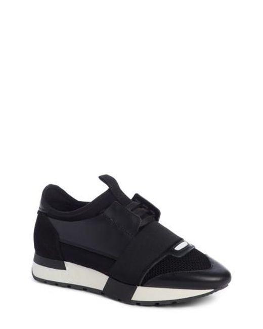 Balenciaga Women's Mixed Media Trainer Sneaker Wzg02pnN