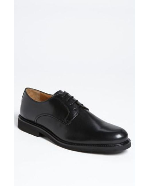 Florsheim | Black 'gallo' Plain Toe Derby for Men | Lyst