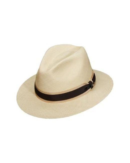 Tommy Bahama - Natural Panama Straw Safari Hat for Men - Lyst  sc 1 st  Lyst & Lyst - Tommy Bahama Panama Straw Safari Hat in Natural for Men