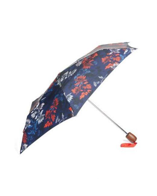 Joules | Blue Right As Rain Umbrella | Lyst