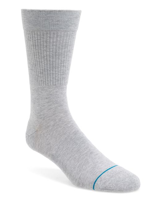 Stance - Gray Fashion Icon Crew Socks for Men - Lyst