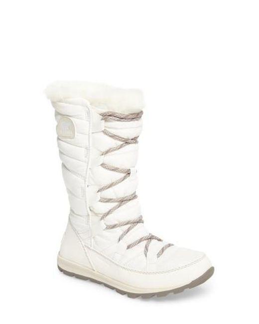 Sorel | White Whitney Snow Boot | Lyst
