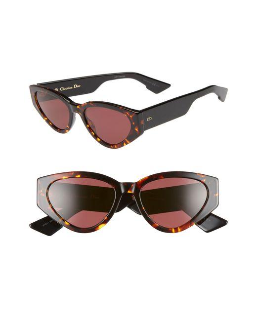 4eb51bd566 Dior - Multicolor Spirit 2 52mm Cat Eye Sunglasses - Lyst ...