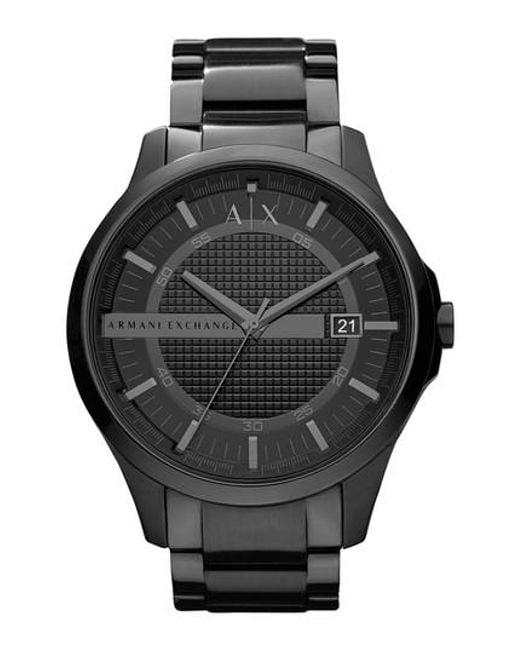 Armani Exchange | Black Bracelet Watch for Men | Lyst