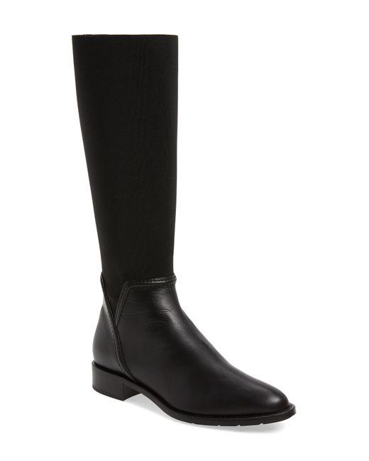 Aquatalia - Black Nanina Weatherproof Riding Boot - Lyst