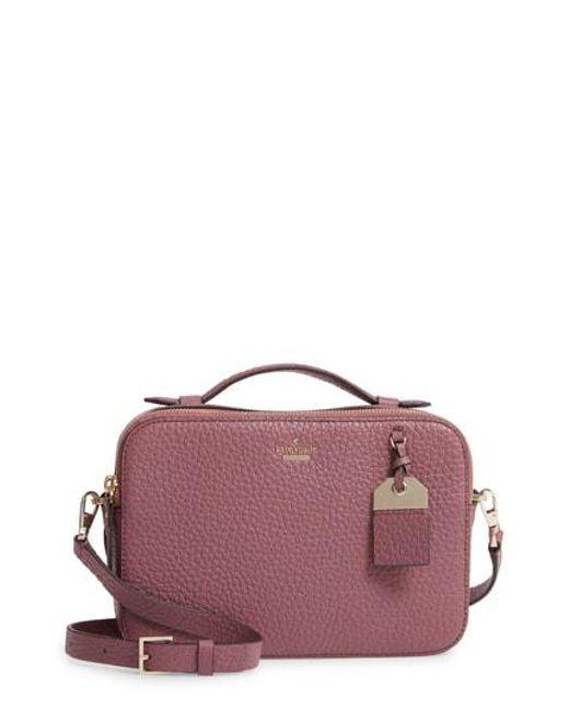 Kate Spade - Purple Carter Street - Large Juliet Leather Crossbody Bag - - Lyst