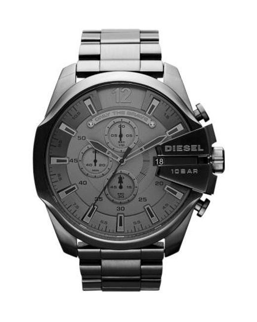 DIESEL | Gray Diesel 'mega Chief' Bracelet Watch for Men | Lyst