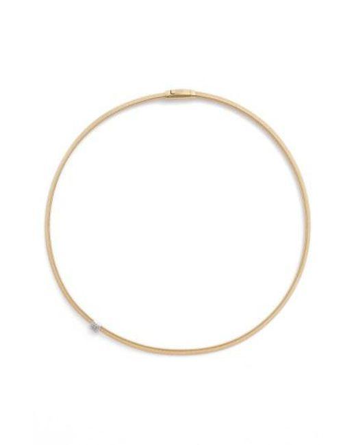 Marco Bicego - Metallic Masai Diamond Collar Necklace - Lyst