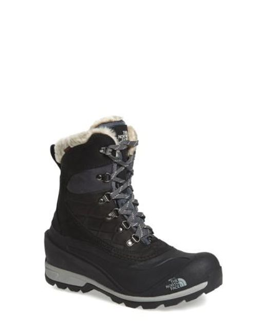 The North Face - Black 'chilkat 400' Waterproof Primaloft Insulated Boot - Lyst