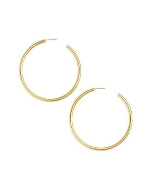 Argento Vivo | Metallic Hoop Earrings | Lyst