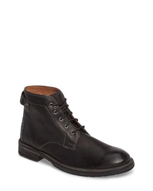 Clarks - Black Clarks Clarkdale Plain Toe Boot for Men - Lyst