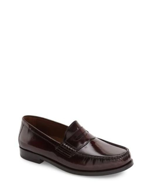 Johnston & Murphy | Brown Pannell Penny Loafer for Men | Lyst