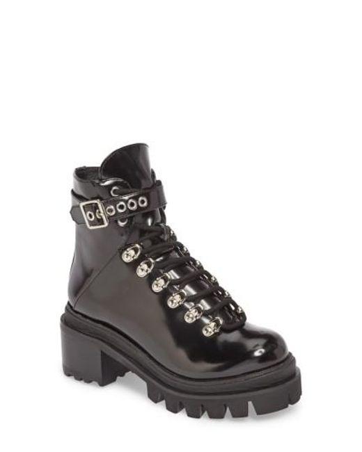 Jeffrey Campbell - Black Czech Lace-up Boot - Lyst
