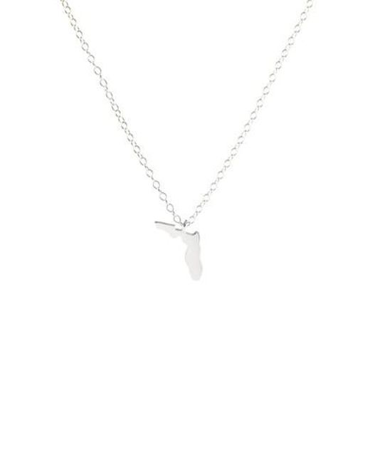 Kris Nations - Metallic Solid State Charm Necklace - Lyst