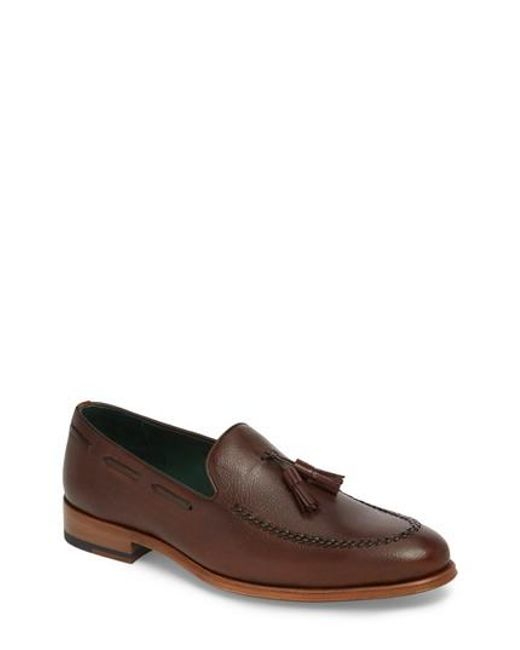 Mezlan - Brown Sabina Tasseled Venetian Loafer for Men - Lyst