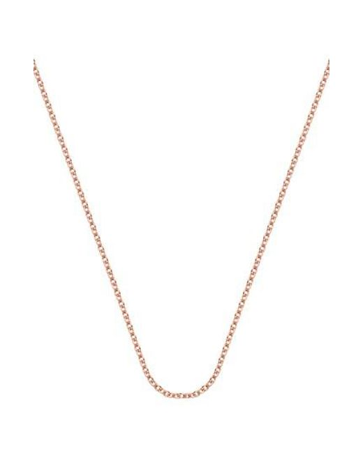 Monica Vinader | Metallic 24-inch Rolo Chain | Lyst