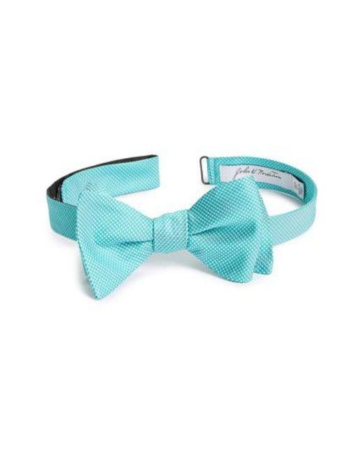 John W. Nordstrom | Blue John W. Nordstrom Dot Silk Bow Tie for Men | Lyst